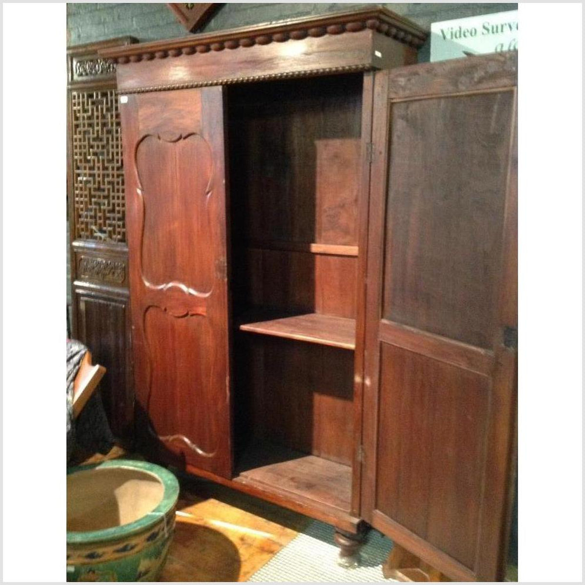 Large Java Indonesian Armoire