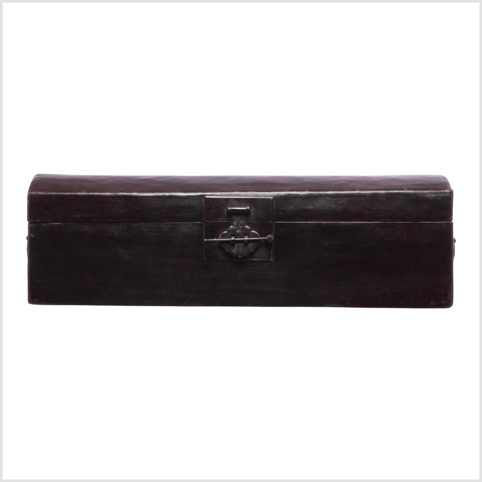 Long Black Chest Box