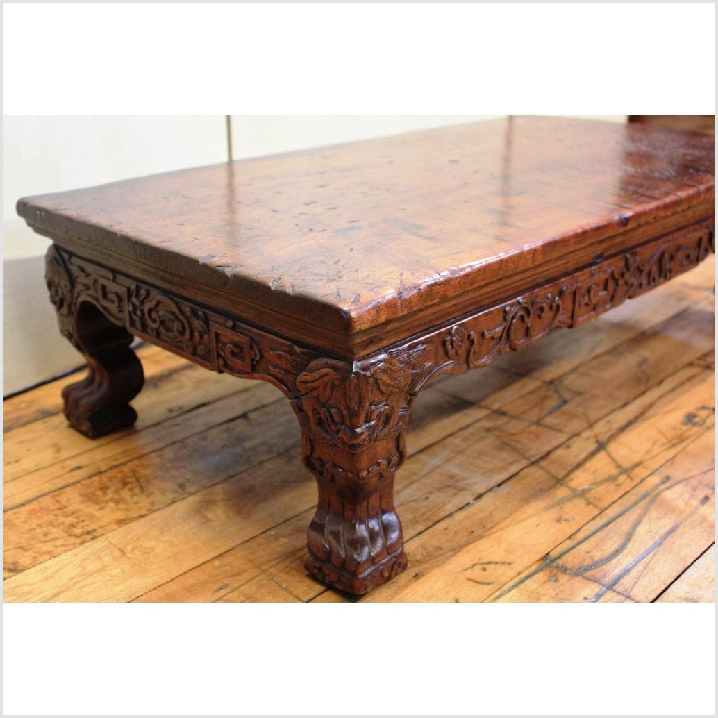 Low Carved Table