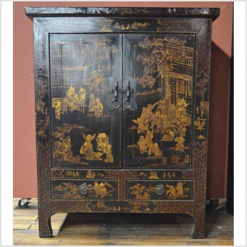 Medium Cabinet with Chinoiserie