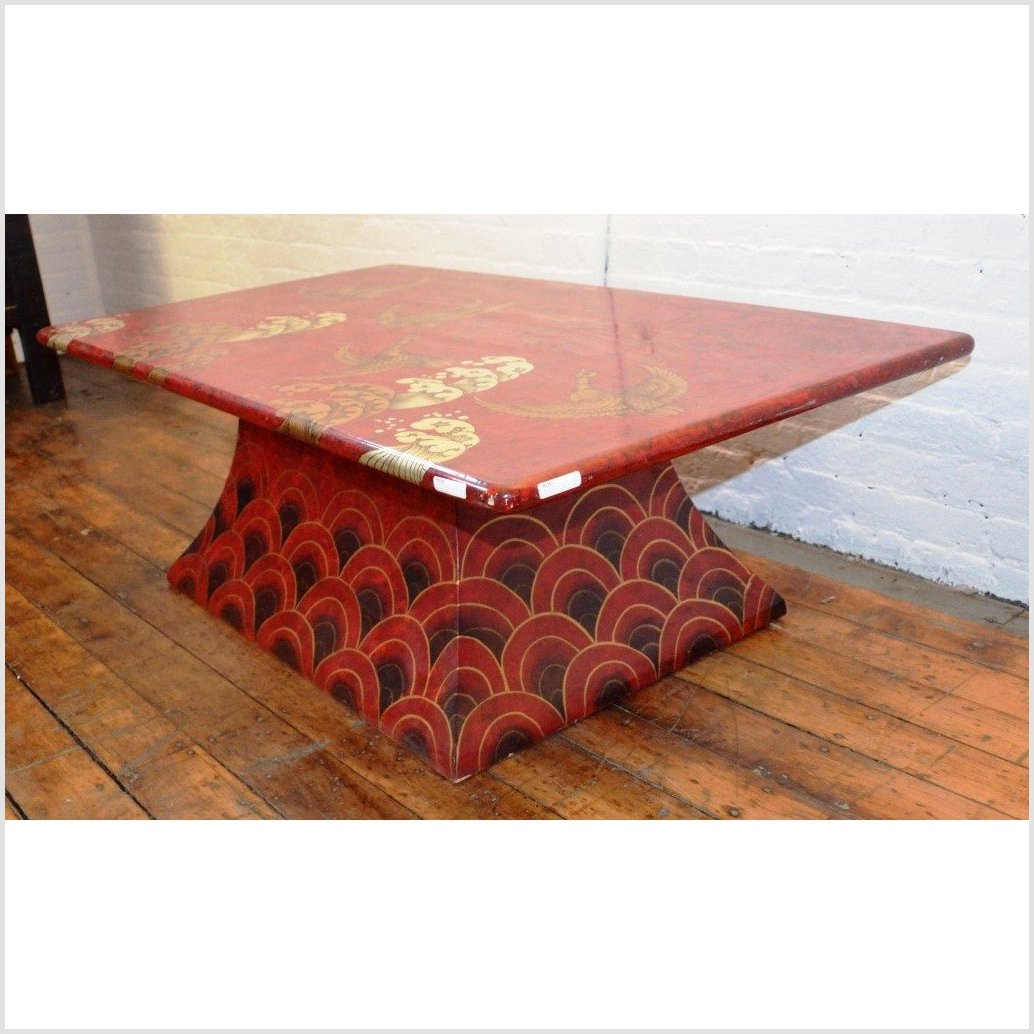 Moderne Lacquered Table