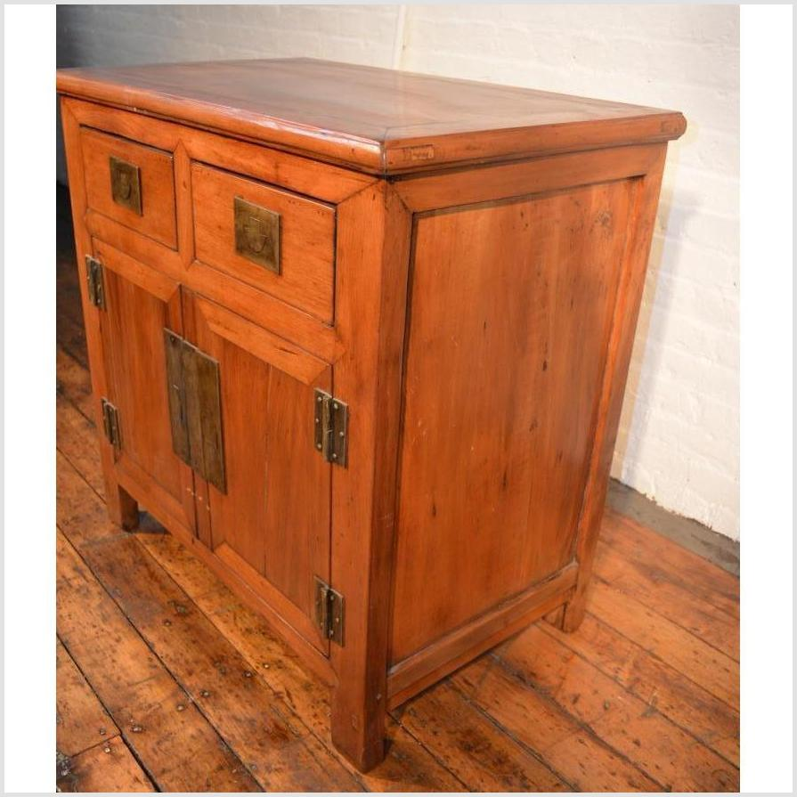 Natural Finish Small Cabinet
