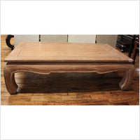 Natural Thai Teak Wood Coffee Table | Asian Antiques in NY ...