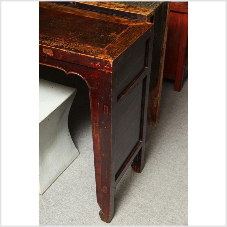 Original Finish 7' Console Table