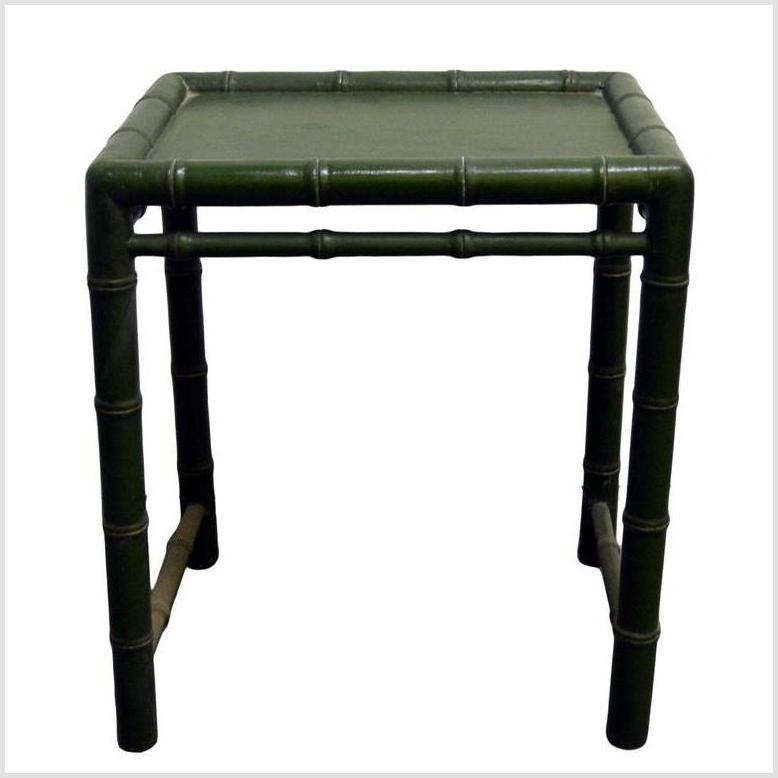 Small Green Table