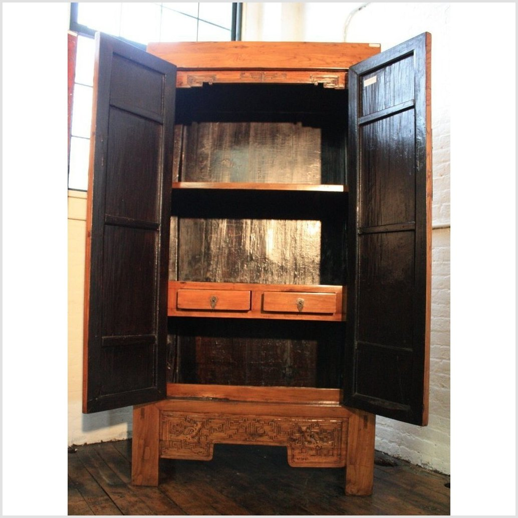 Tall Elm Cabinet