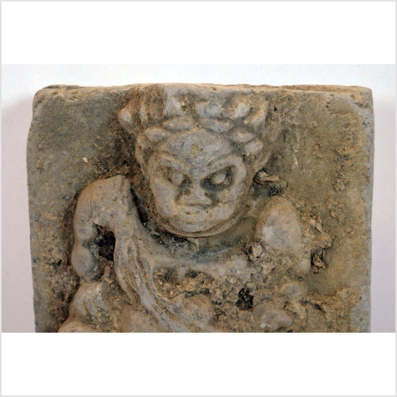 TANG DYNASTY TERRACOTTA WALL TILE