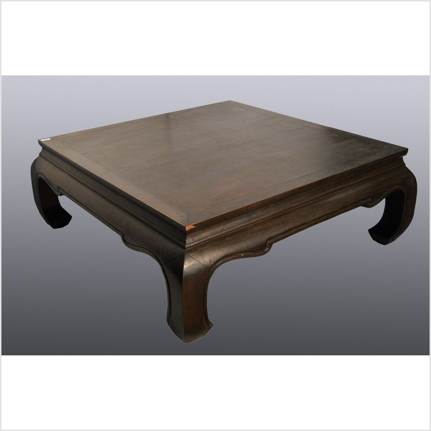 Teakwood Chow Leg Table