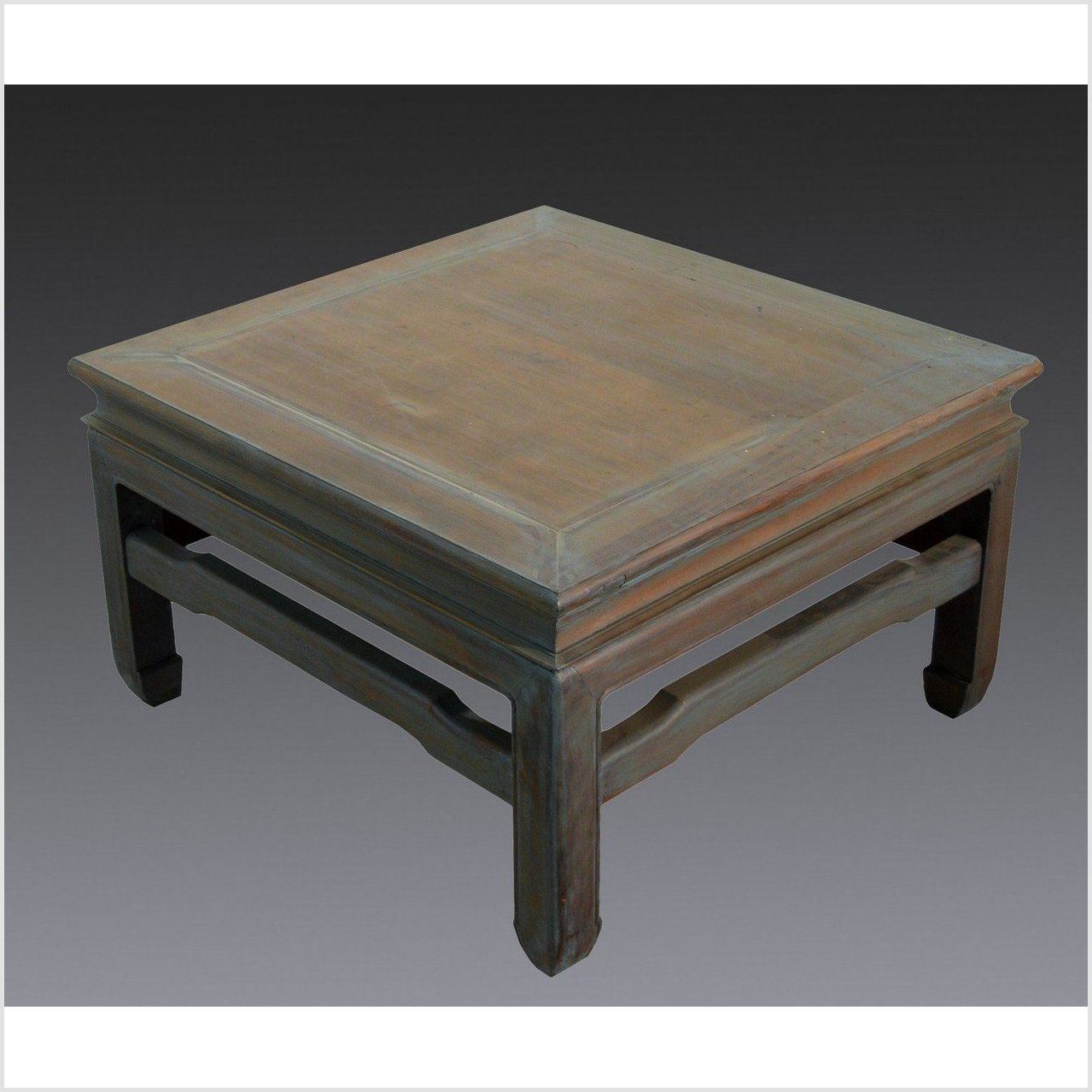 Teakwood Square Side Table