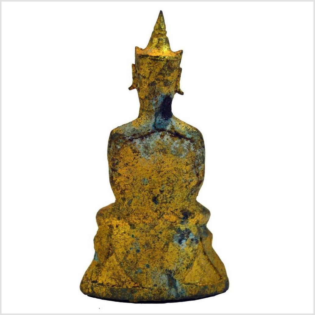THAI GILT BRONZE BUDDHA, BANGKOK PERIOD