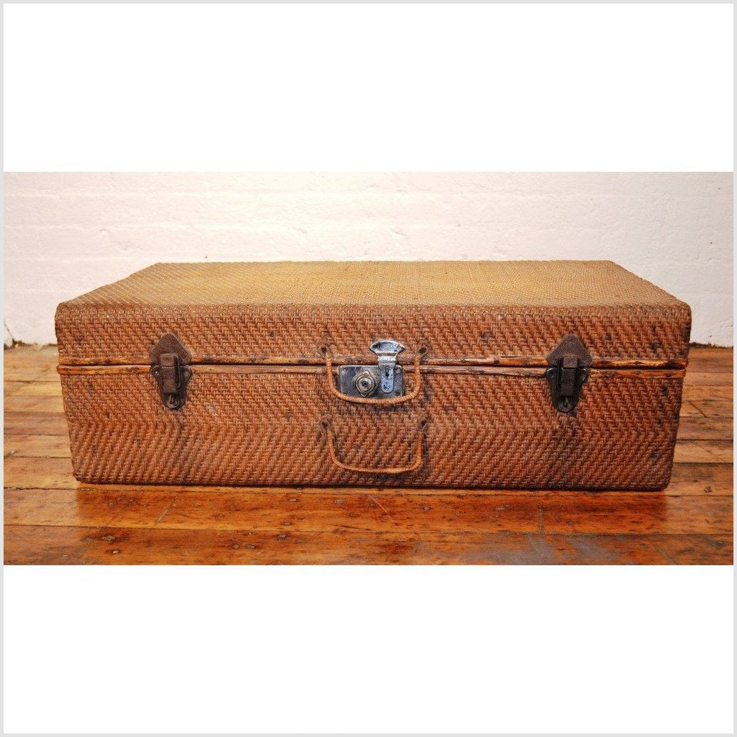 Woven Suitcase/Trunk