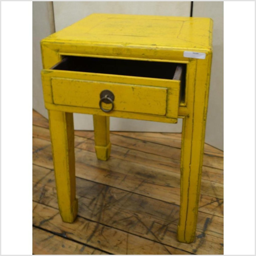 Yellow Side Tables