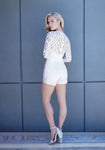 Varesa Long Sleeve Lace Romper
