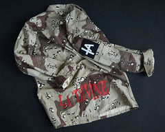 COLD WAR KIDS CAMO JACKET