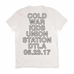 CWK Union Station White Tee
