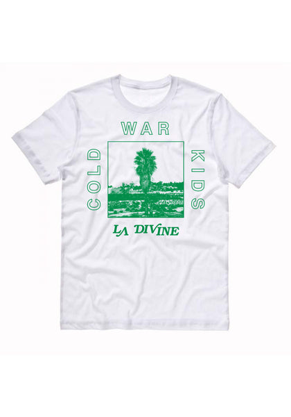 Cold War Kids 'La Divine' White T-Shirt