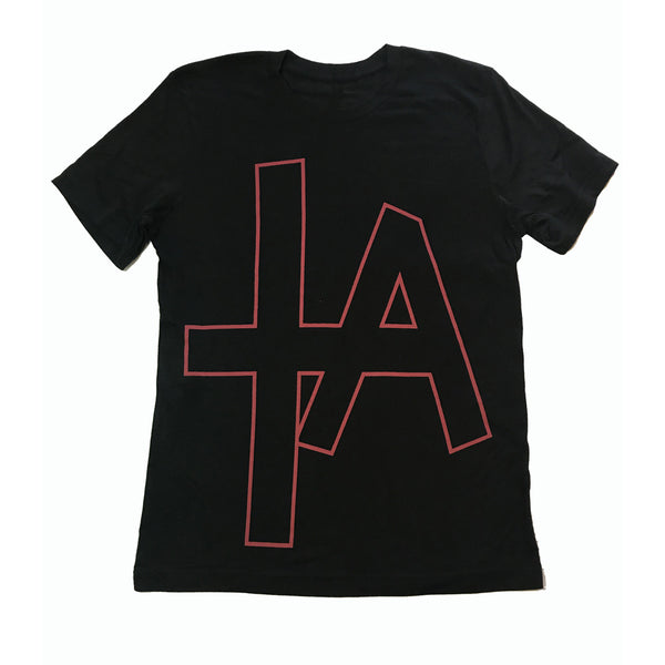 COLD WAR KIDS LA DIVINE TRACKLIST BLACK T-SHIRT