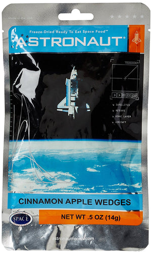 Astronaut Food - Cinnamon Apple Wedges