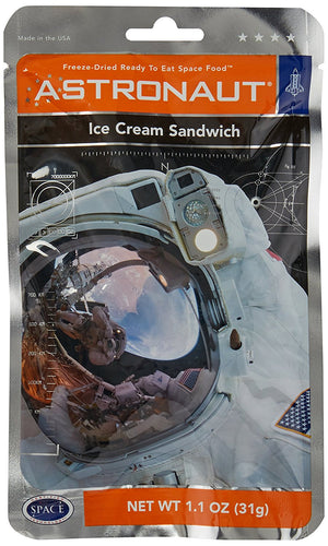 Astronaut Foods Space Food - Astronaut Ice Cream Sandwich