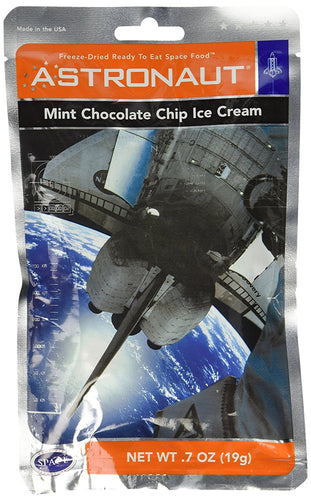 Astronaut Space Food Mint Chocolate Ice Cream