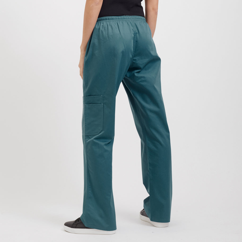 Women's scrubs modern fit straight leg pants