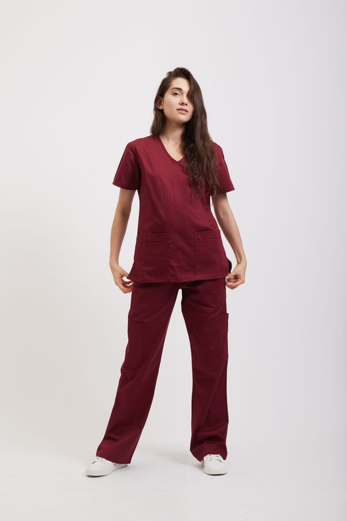 Women's Classic Fit Top Maroon