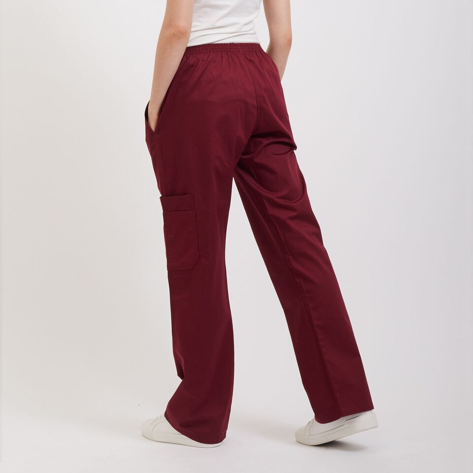 Professional Nursing Pants Maroon
