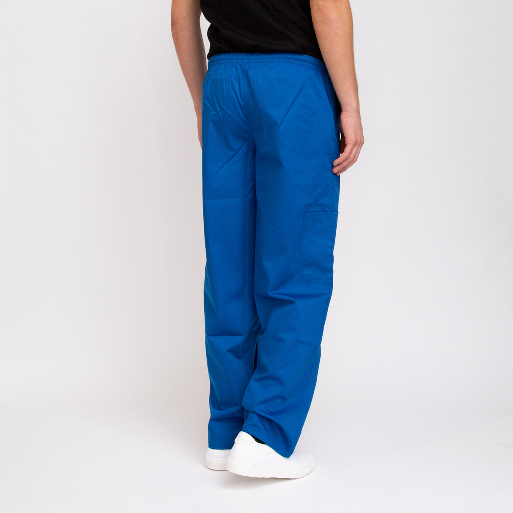 Men's Scrub Pants Royal Blue Ethically Sourced