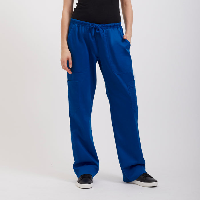 Royal Blue Scrub Pant for Women