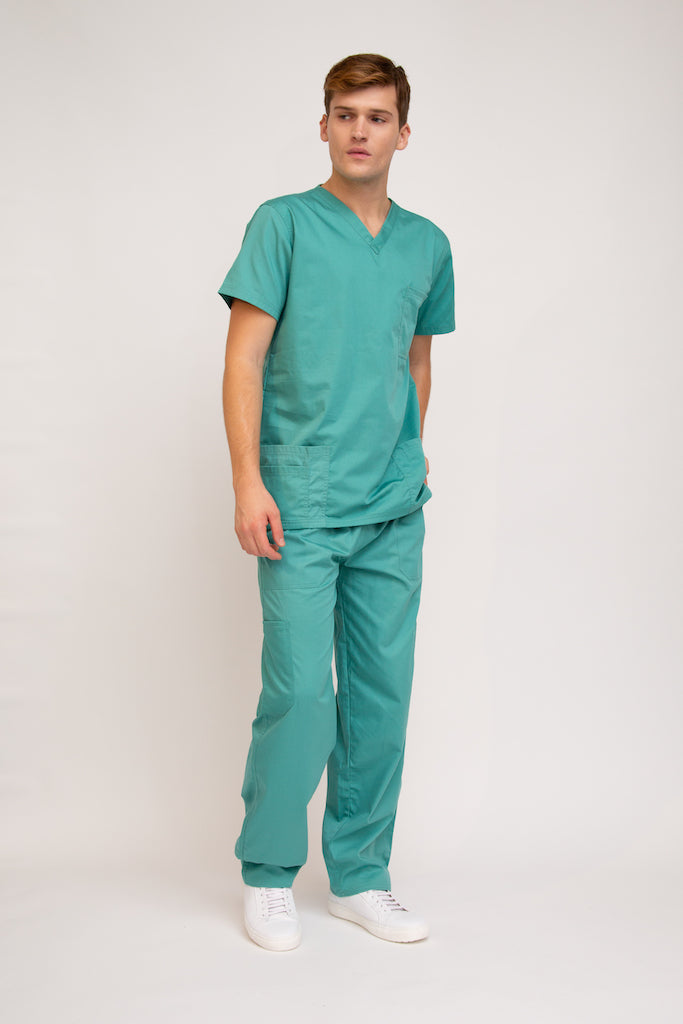 Classic Nursing and Medical Scrubs for Men