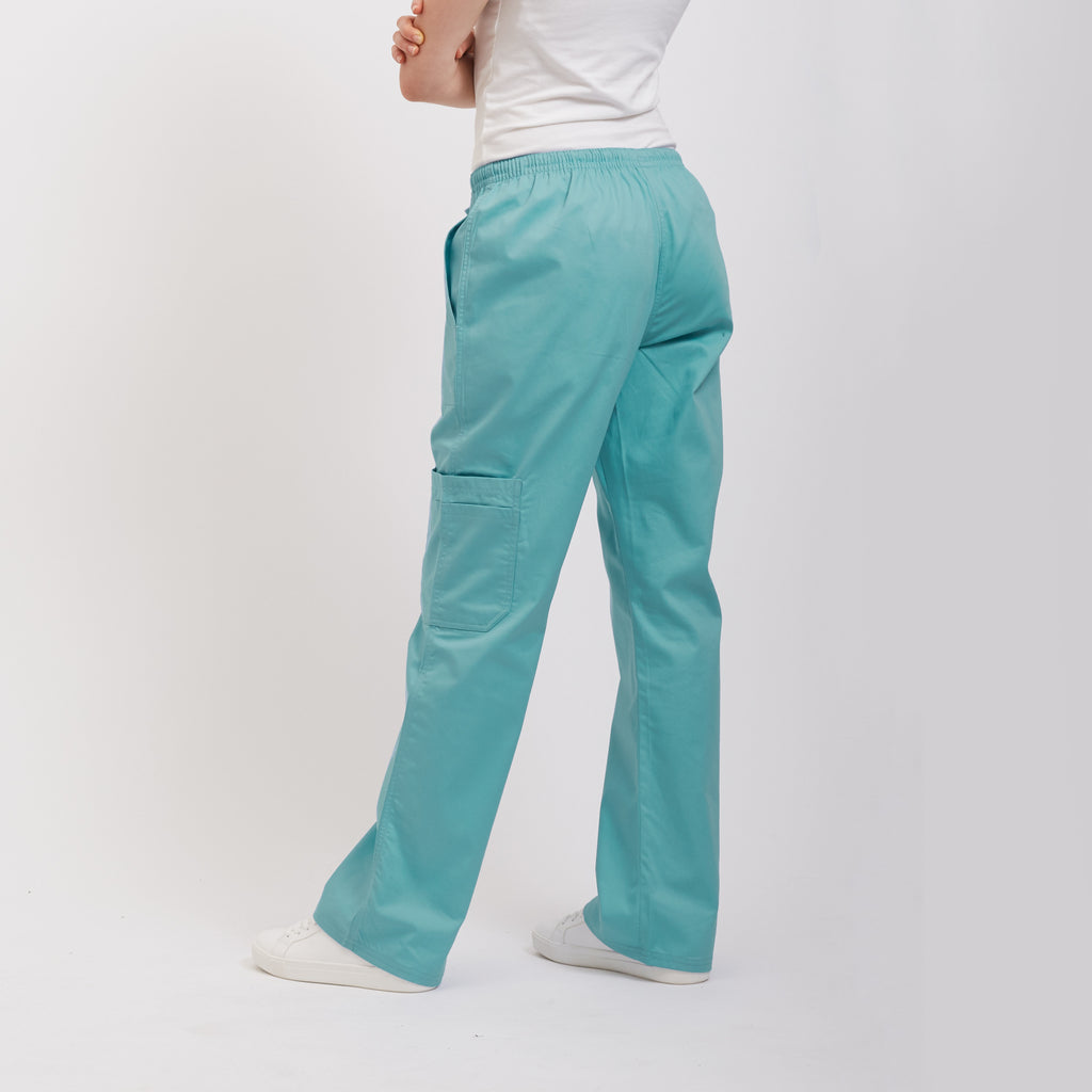Medical Scrub Pant Sea Blue