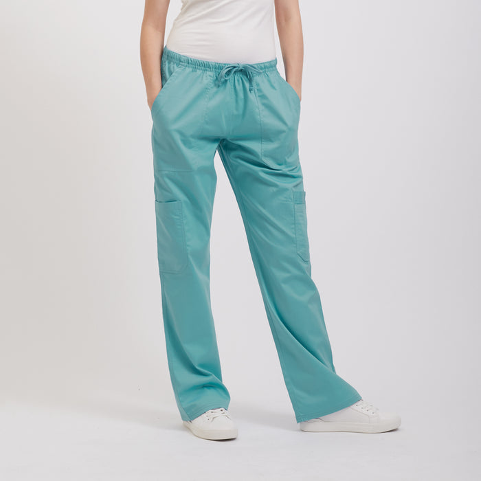 Maximum Comfort Sea Blue Scrub Pant