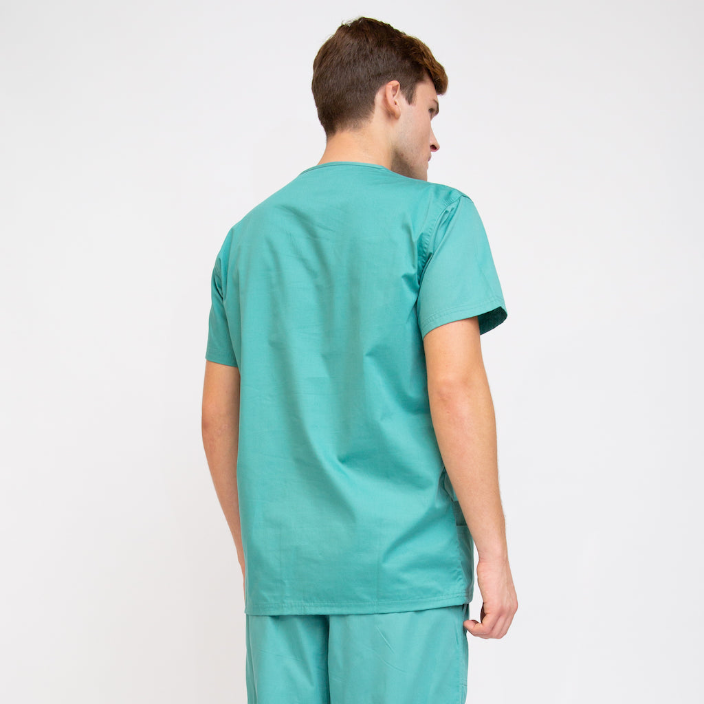 Comfortable Classic Fit Scrub Top