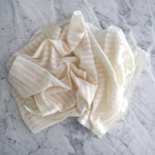 Dinner Napkin / Creamy Stripe