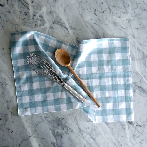 Hand Towel / Fog Gingham