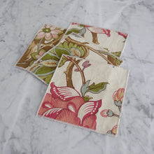 Cocktail Napkin Set / Colorful Botanical