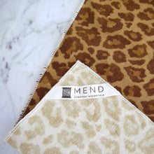 Dinner Napkin / Brown Leopard