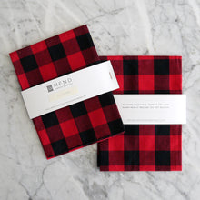 Hand Towel / Buffalo Plaid Gingham