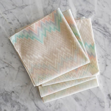 Dinner Napkin / Vintage Flame Stitch