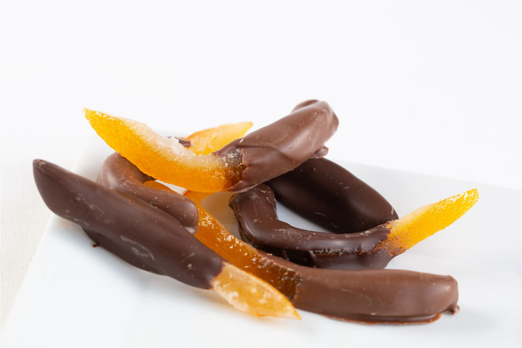 Chocolate-Dipped Orange Peel