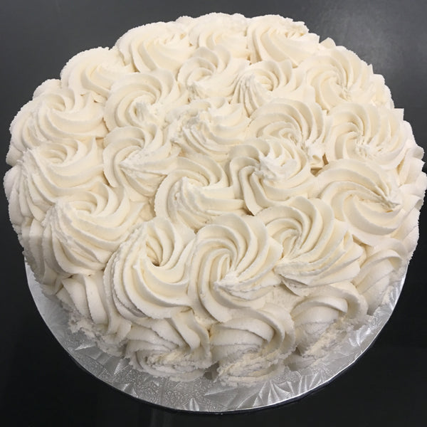 Rosette Cakes (Vegan options)