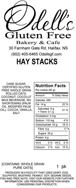 Hay Stacks (contains rolled oats)