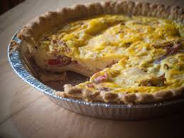 VEGETABLE & CHEESE QUICHE