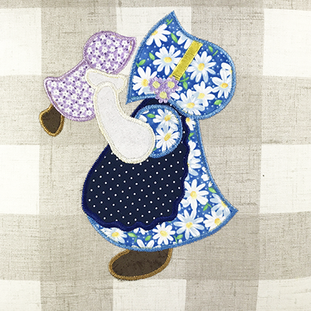 Pillow Doll-Applique