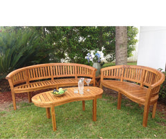 Teak Patio Benches and Swings