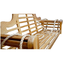 Teak Wood Lutyens Double Swing - Chic Teak