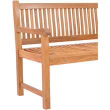 Teak Wood Elzas Double Bench