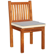 9 Piece Rectangular Teak Wood Elzas Table/Chair Set With Cushions - Chic Teak