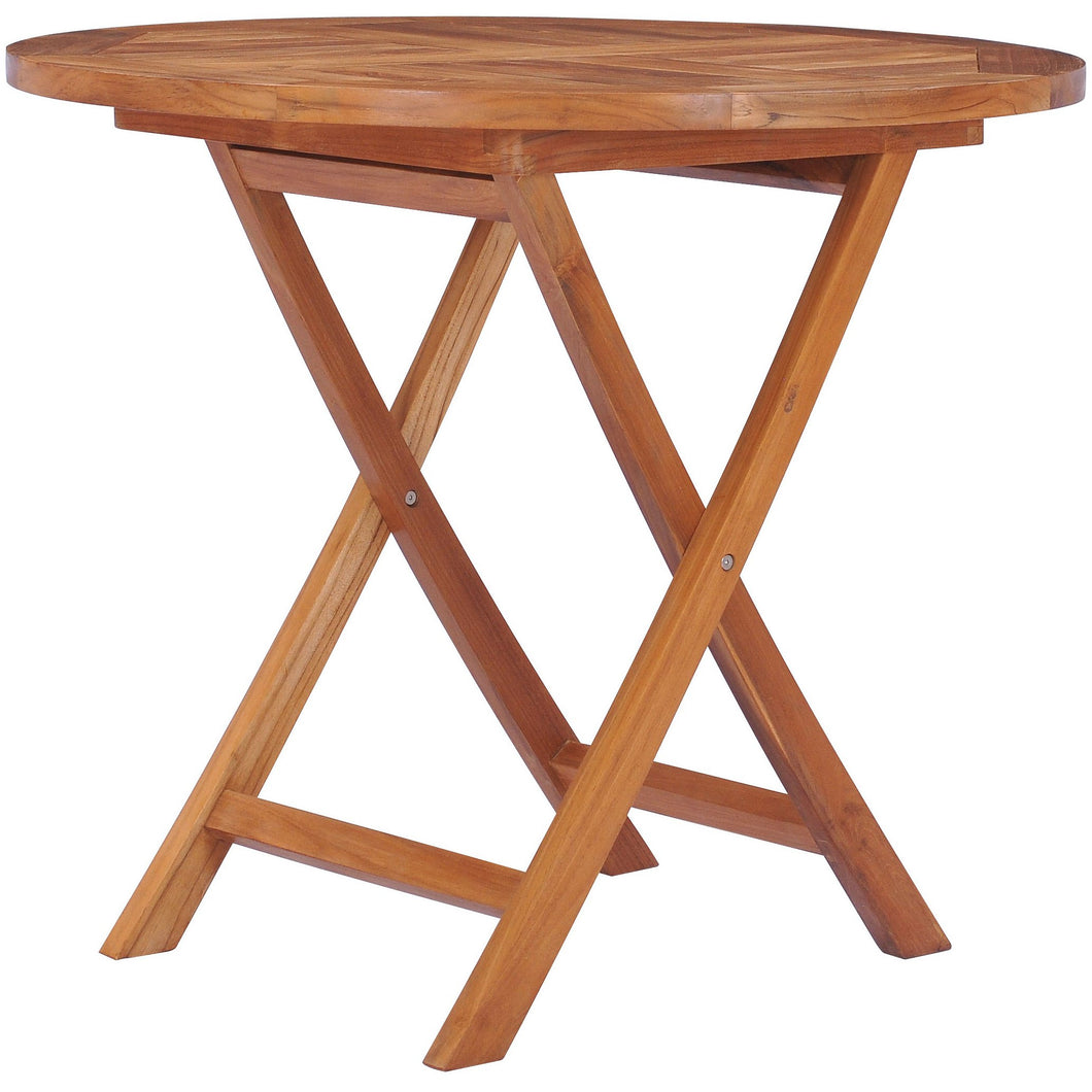 Teak Wood California Folding Table