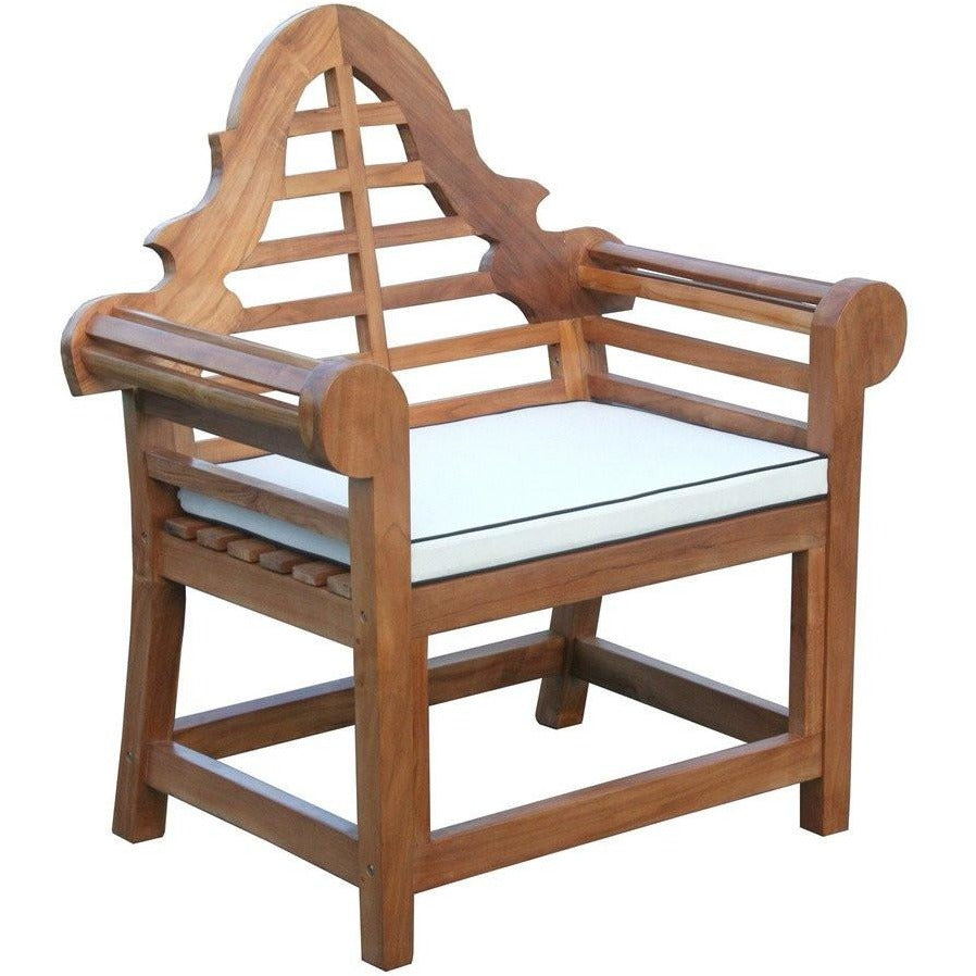 cushion for lutyens chair by chic teak only 40 07